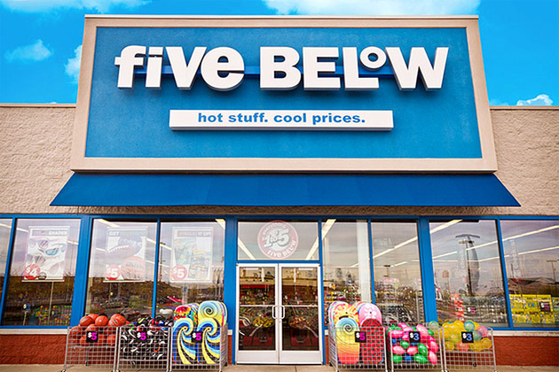 Shop five below online