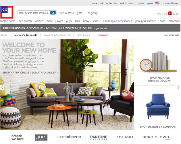 Jcpenney shopping online