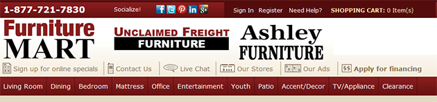 Furniture Mart line Store Weekly Ads line