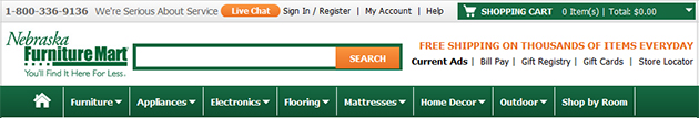 Nebraska Furniture Mart Online Store Weekly Ads Online