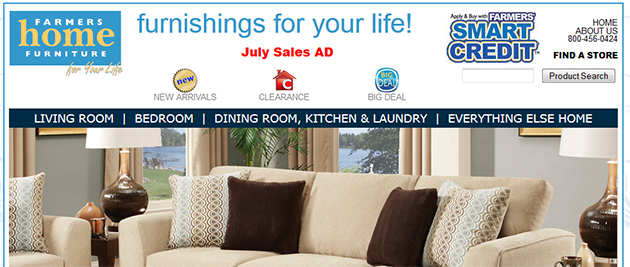 Farmers home furniture weekly ads online for Farmers home furniture store hours