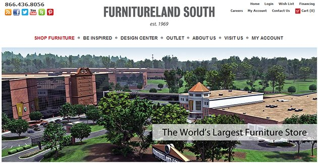 Furnitureland south online store weekly ads online for M furnitureland south