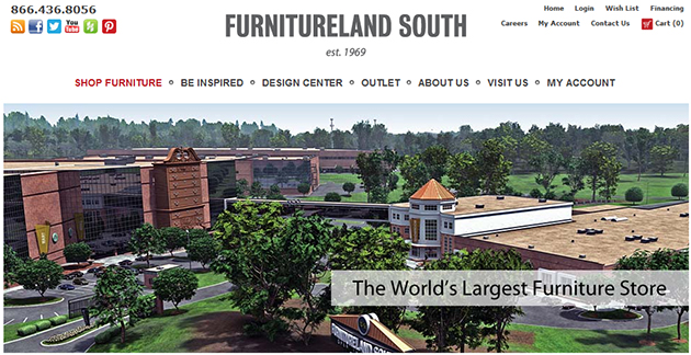 Furnitureland south online store weekly ads online Furniture land south