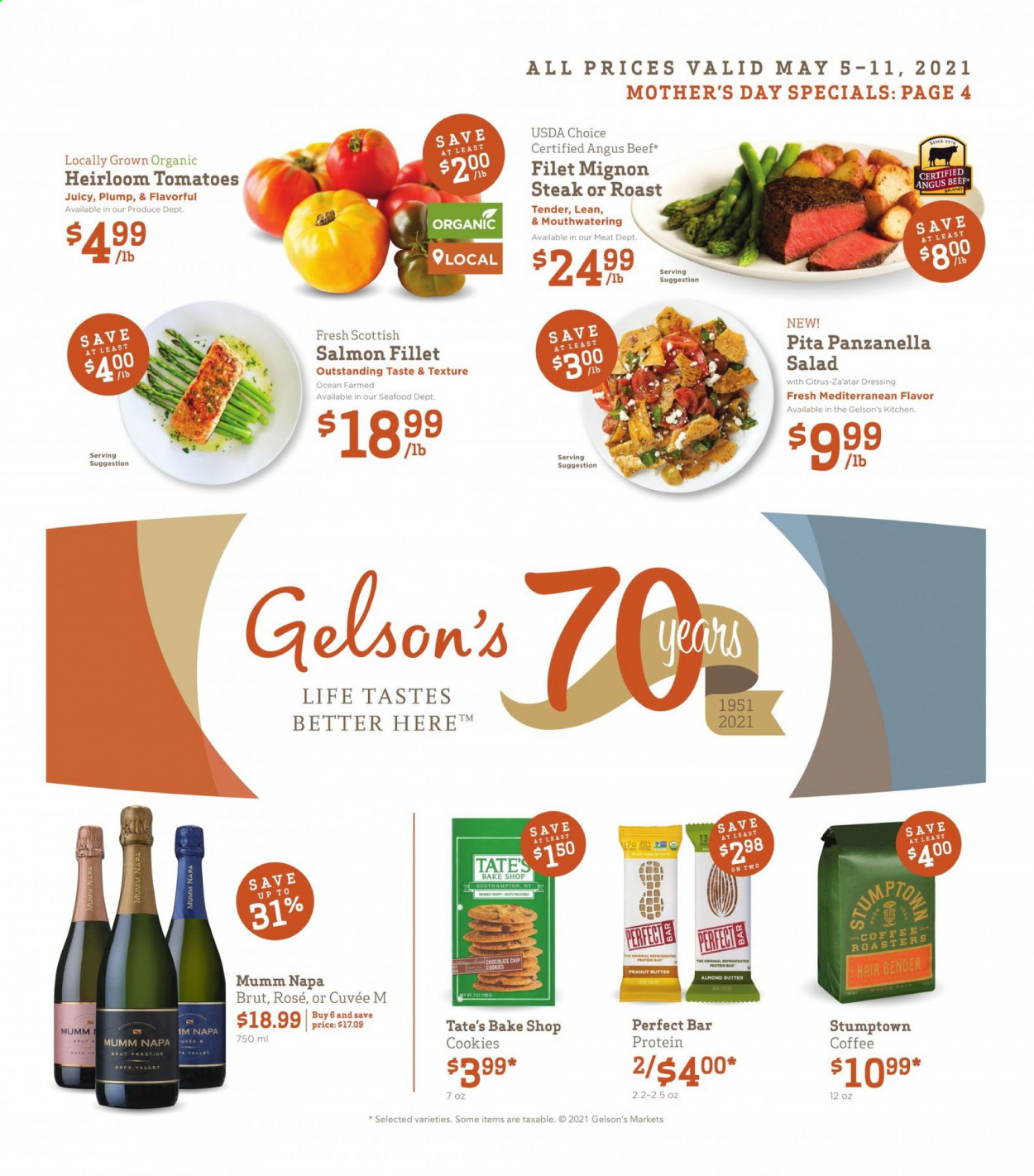 Gelson's Ad from may 5 to 11 2021