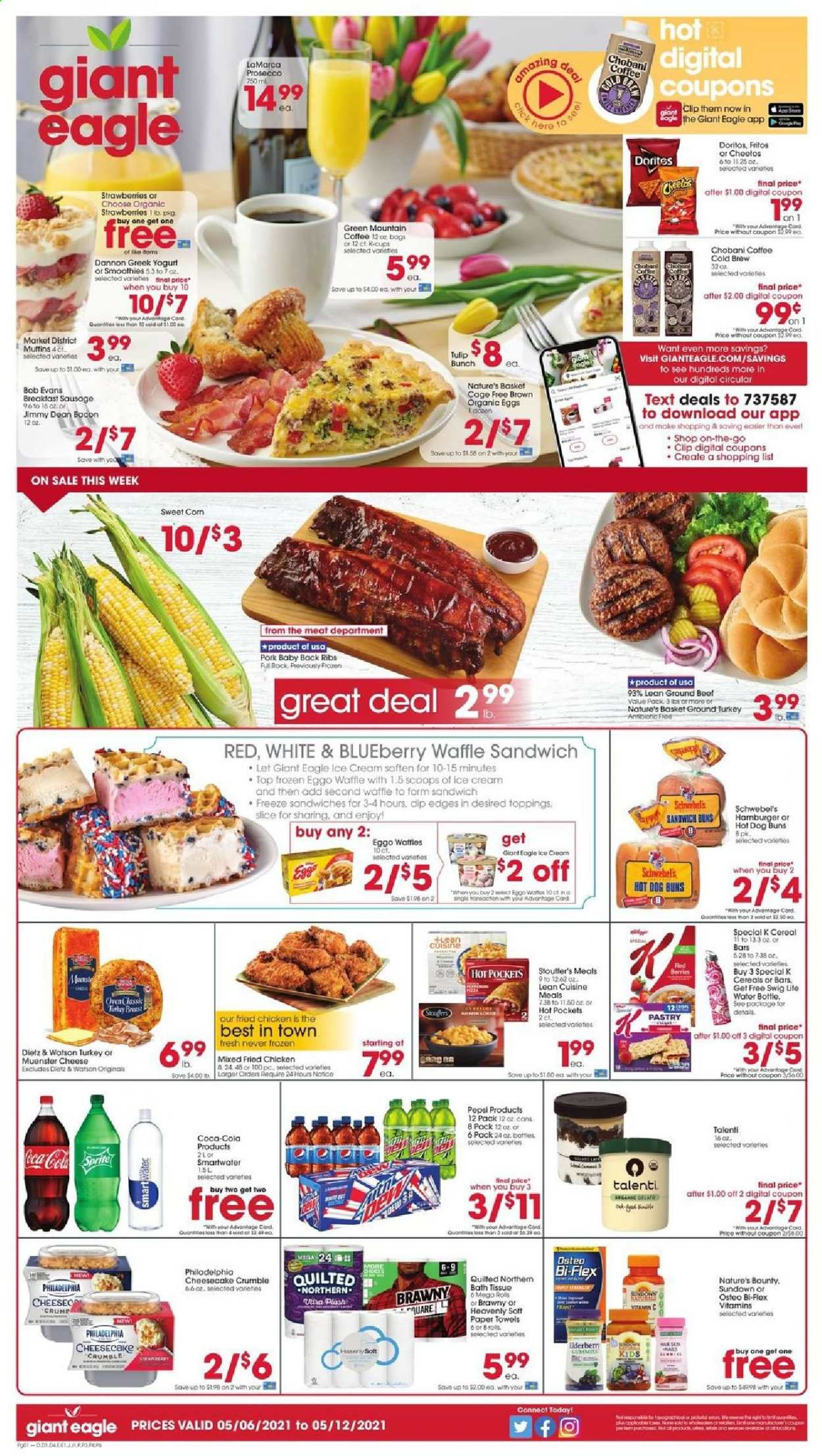 Giant Eagle Ad from may 6 to 12 2021