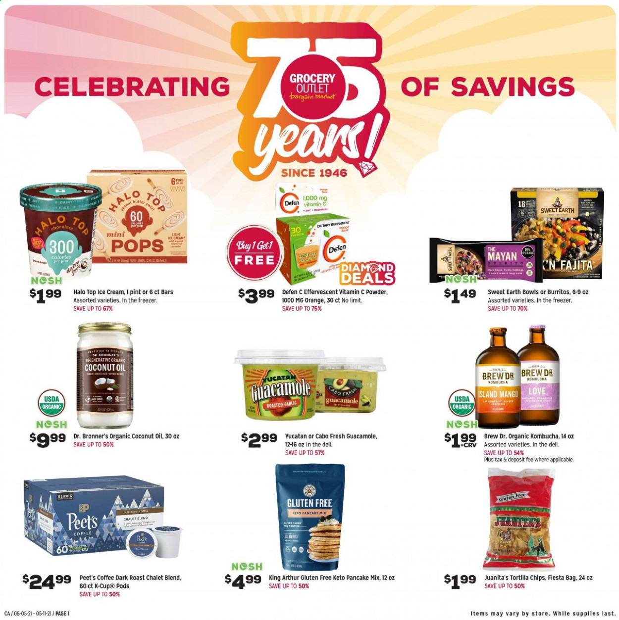 Grocery Outlet Ad from may 5 to 11 2021