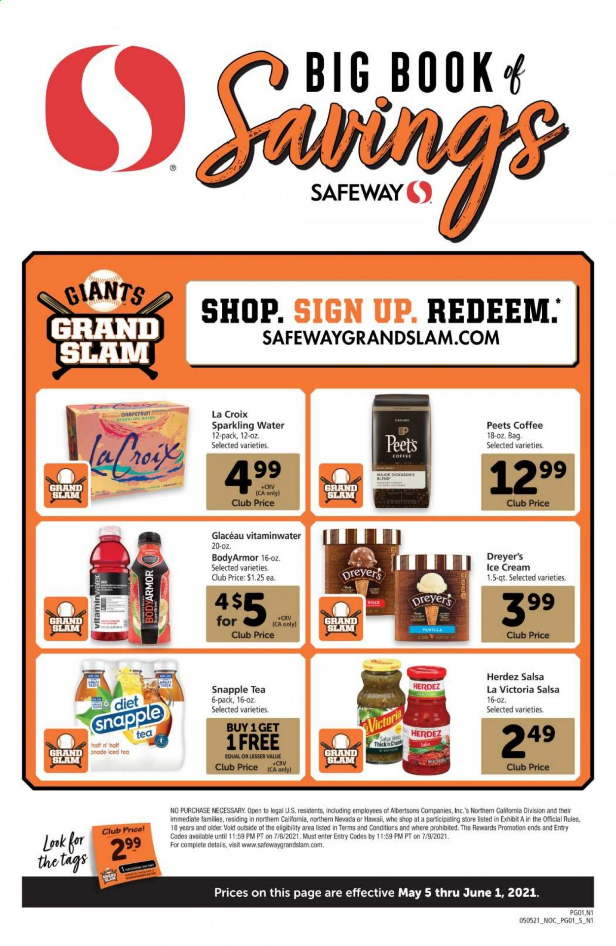 Safeway Big Book of Savings Ad from may 5 to june 1 2021