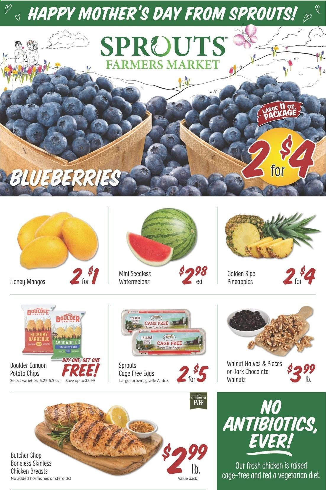 Sprouts Farmers Market Ad from may 5 to 11 2021