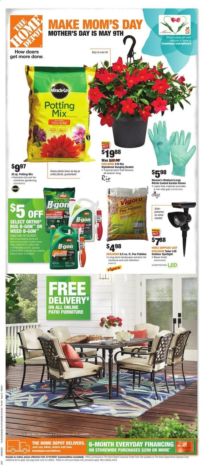 Home Depot Ad from may 6 to 12 2021