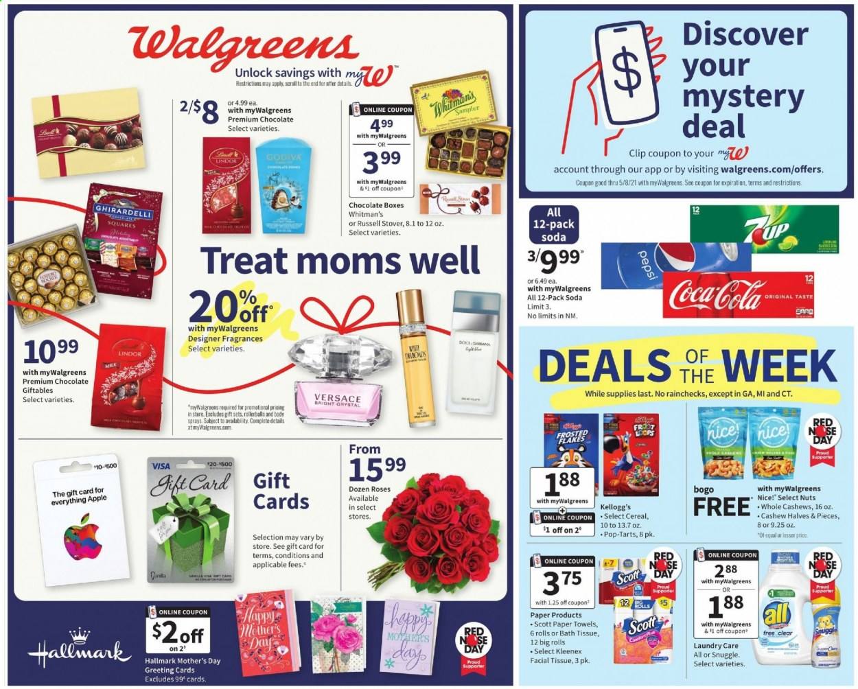 Walgreens Ad from may 2 to 8 2021