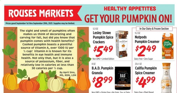 Rouses Markets current Flyer online