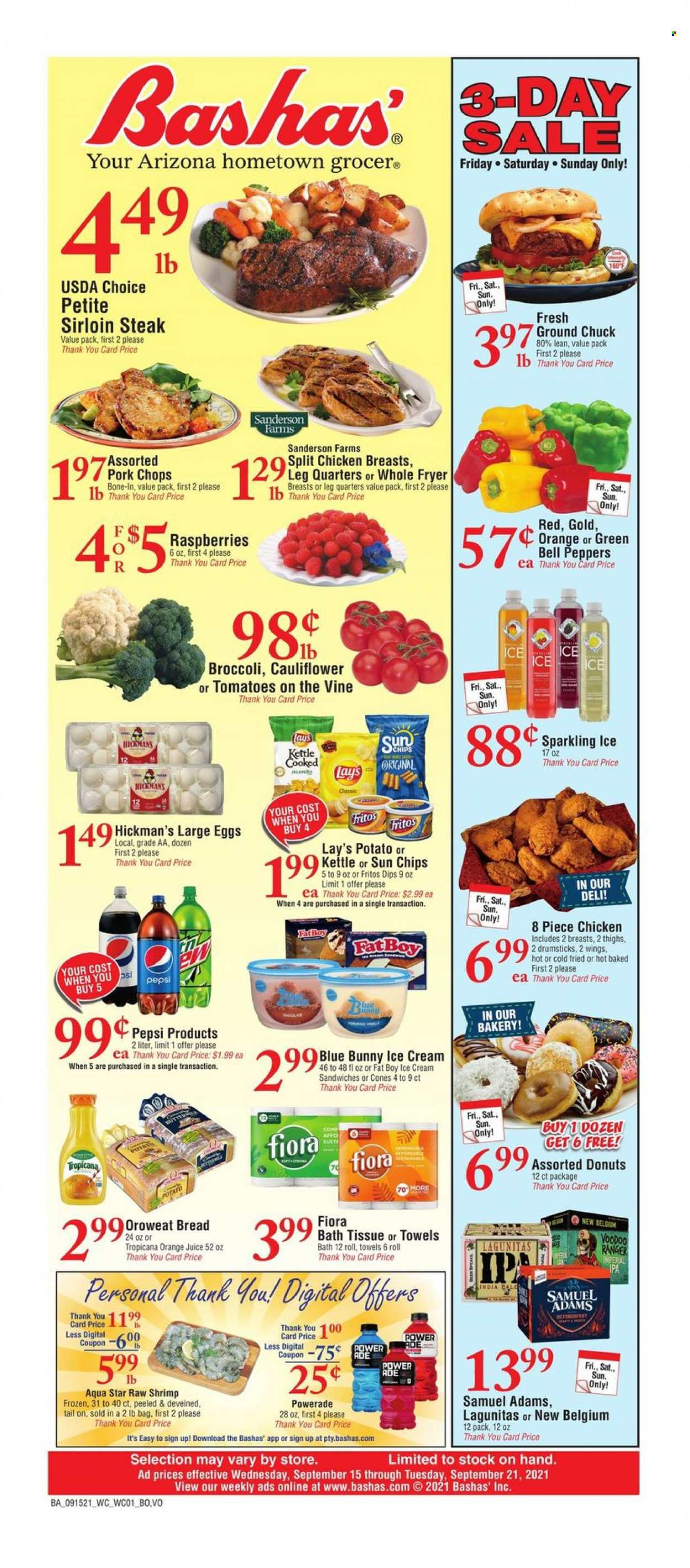 Bashas Ad from september 15 to 21 2021 - Page 1