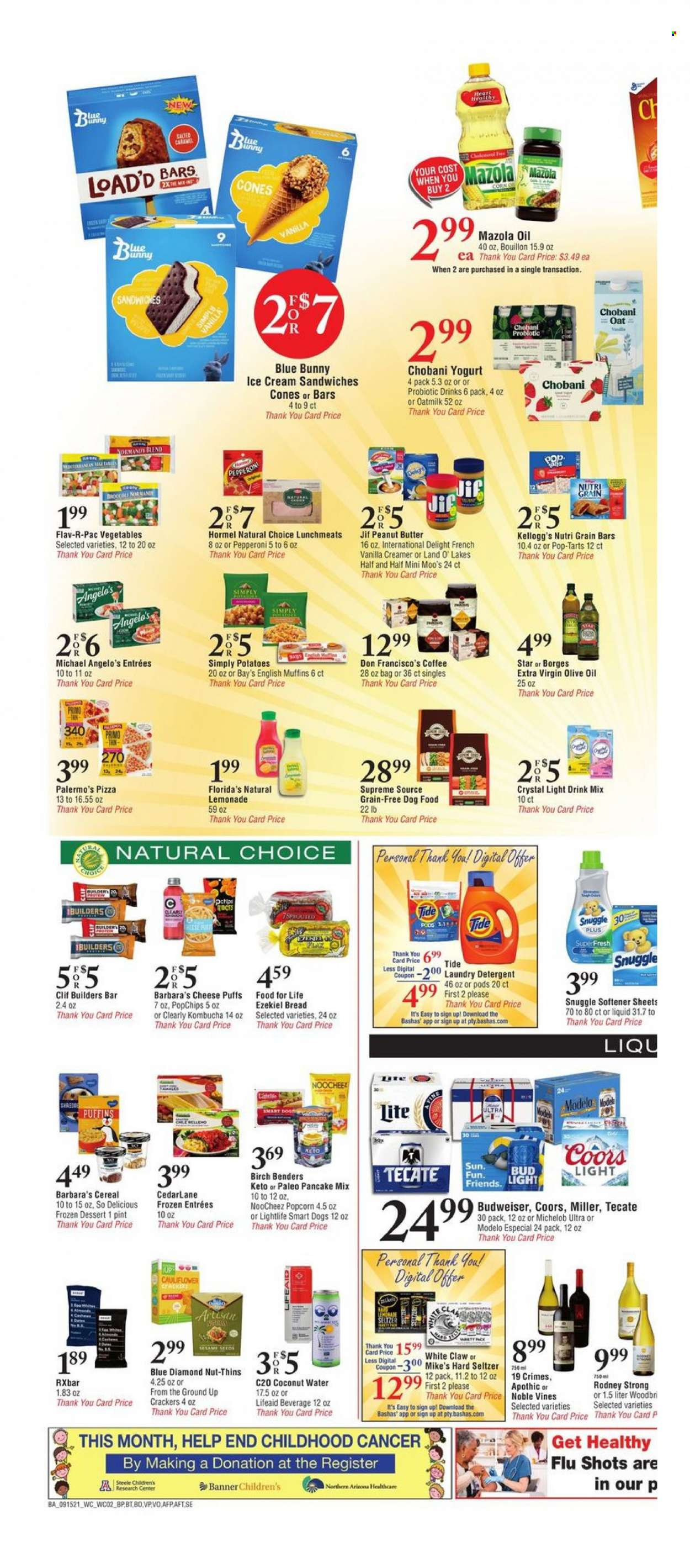 Bashas Ad from september 15 to 21 2021 - Page 2