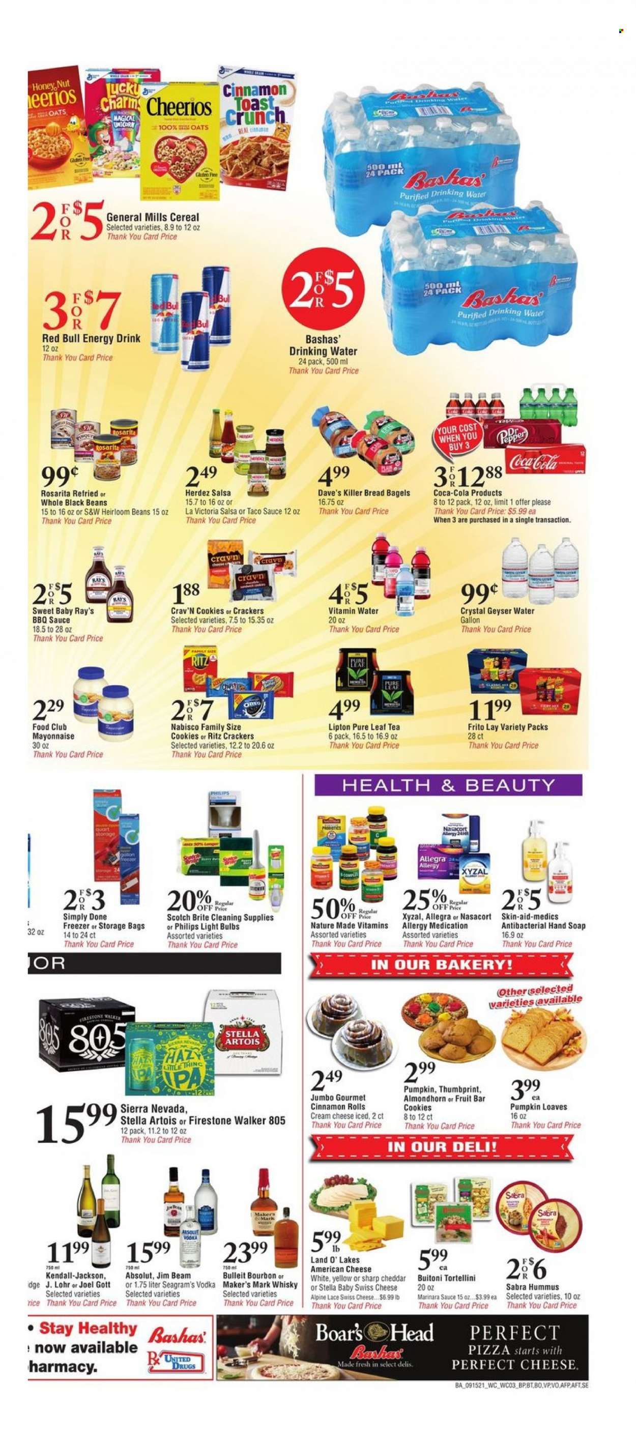 Bashas Ad from september 15 to 21 2021 - Page 3