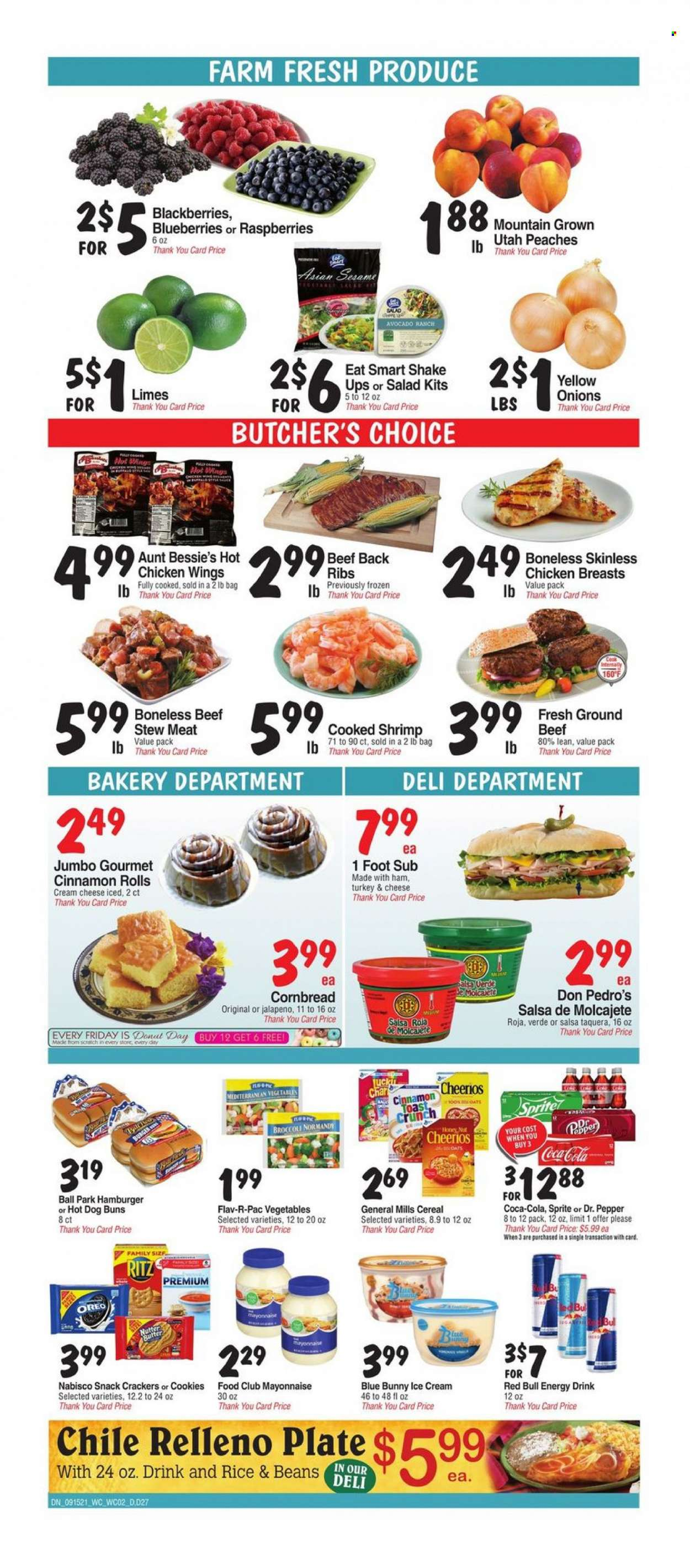 Bashas Diné Markets Ad from september 15 to 21 2021 - Page 2