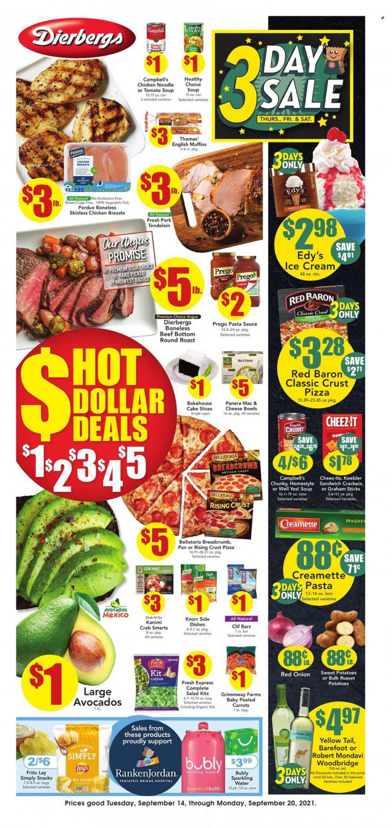 Dierbergs Ad from september 14 to 20 2021 - Page 1