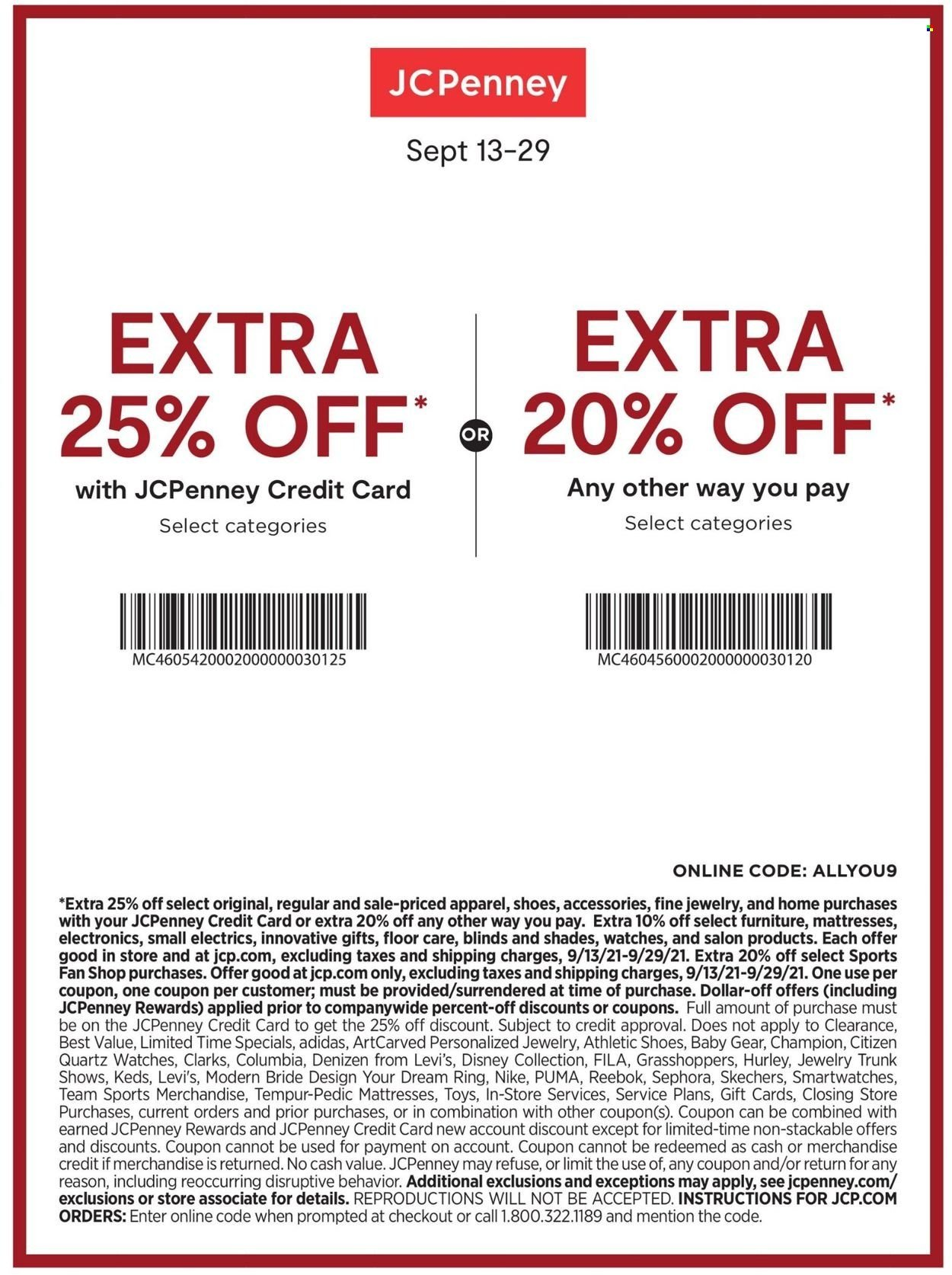 JCPenney Fall Fashion Event from september 13 to 29 2021 - Page 2