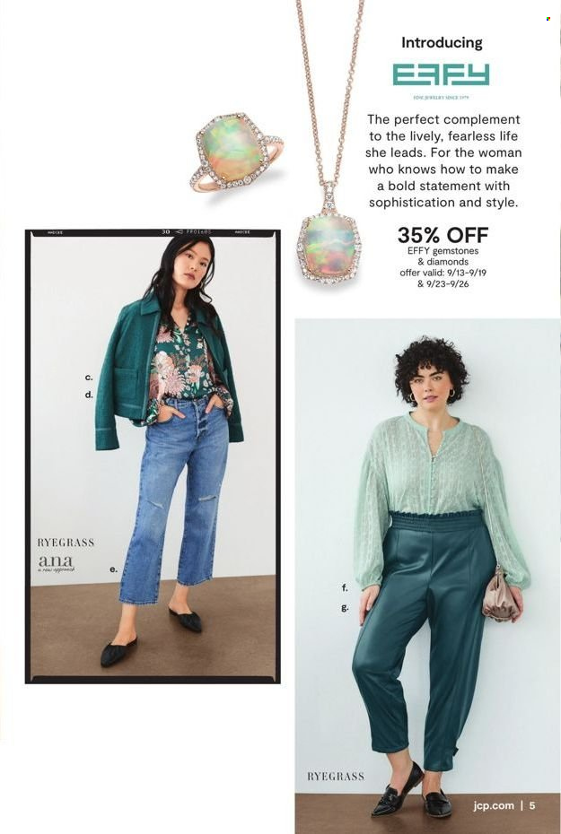 JCPenney Fall Fashion Event from september 13 to 29 2021 - Page 8