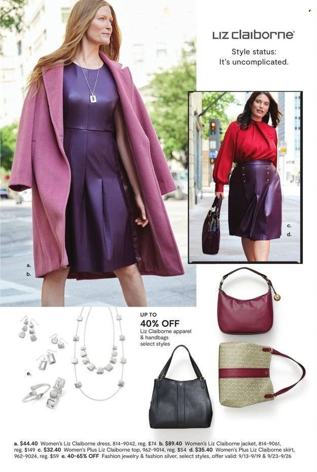 JCPenney Fall Fashion Event from september 13 to 29 2021 - Page 9