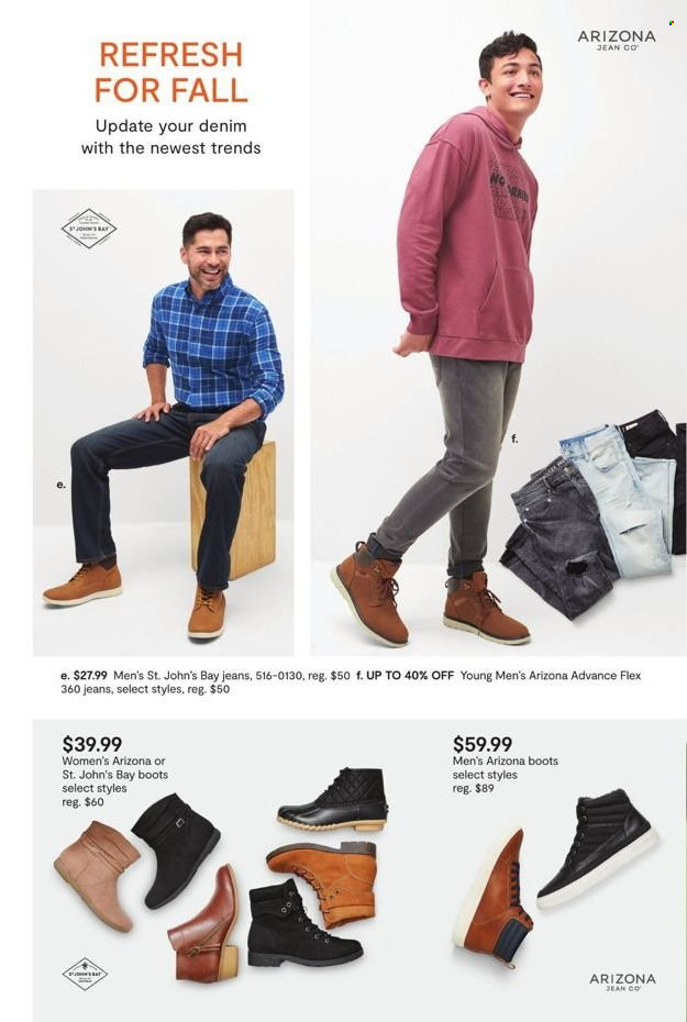 JCPenney Fall Fashion Event from september 13 to 29 2021 - Page 14