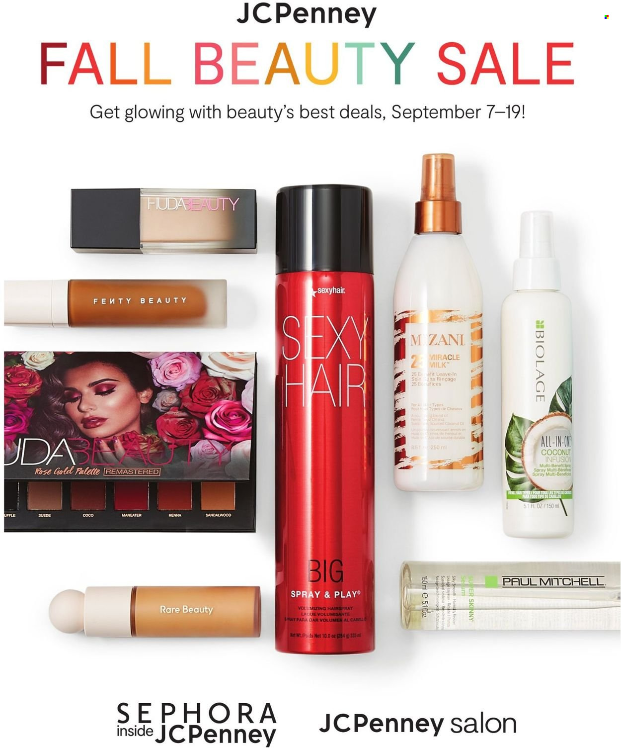 JCPenney - Fall Beauty Sale - from september 7 to 19 2021 - Page 1