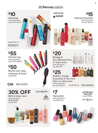 JCPenney - Fall Beauty Sale - from september 7 to 19 2021 - Page 2