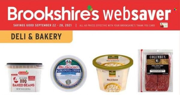Brookshire's current Flyer online