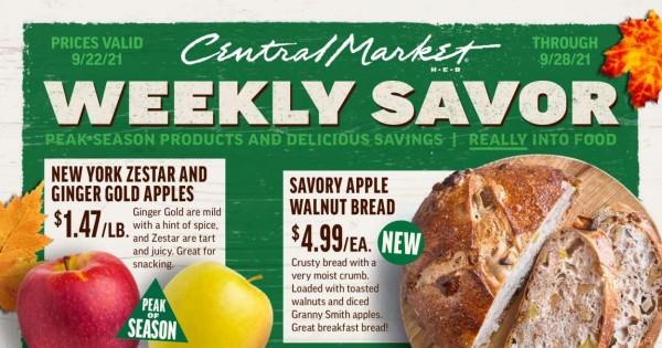 Central Market current Flyer online