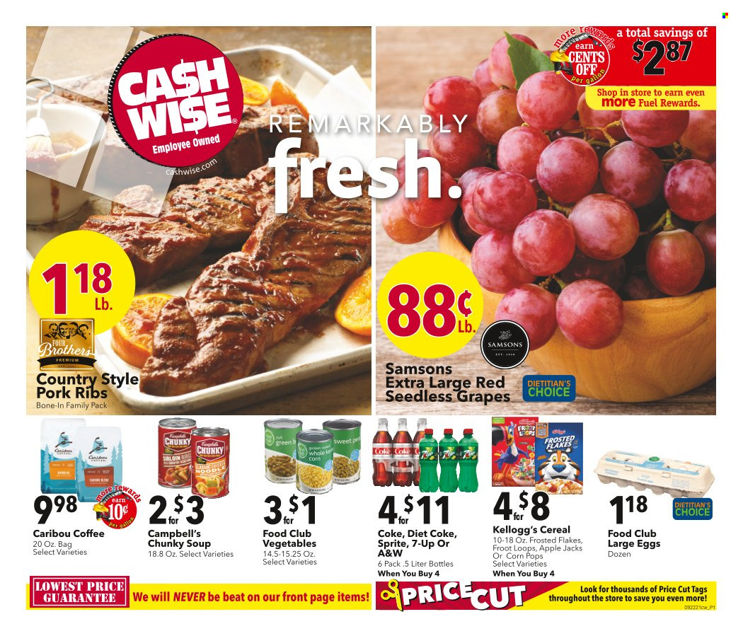 Cash Wise Ad from september 22 to 28 2021 - Page 1