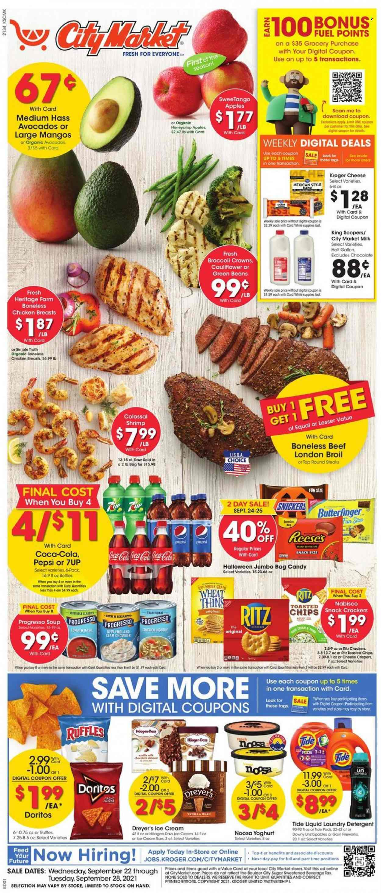 City Market Ad from september 22 to 28 2021 - Page 1