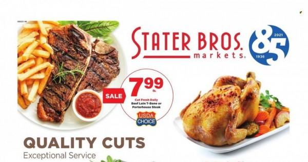 Stater Bros Markets current Flyer online