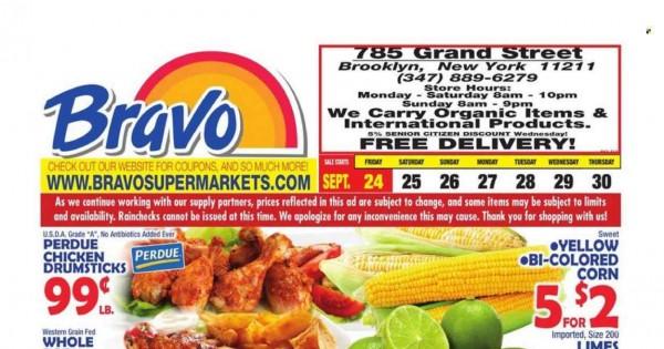 Bravo Supermarkets current Flyer online