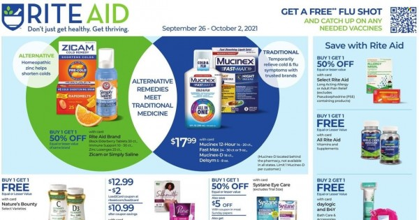 Rite Aid current Flyer online