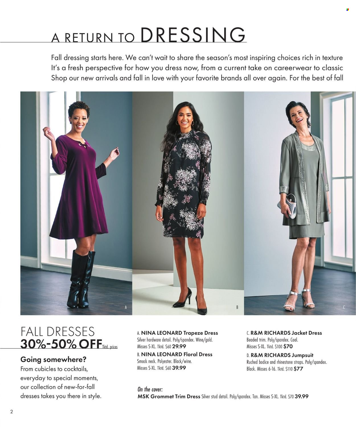 Boscov's Fall Clothing Ad from september 23 to october 6 2021 - Page 2