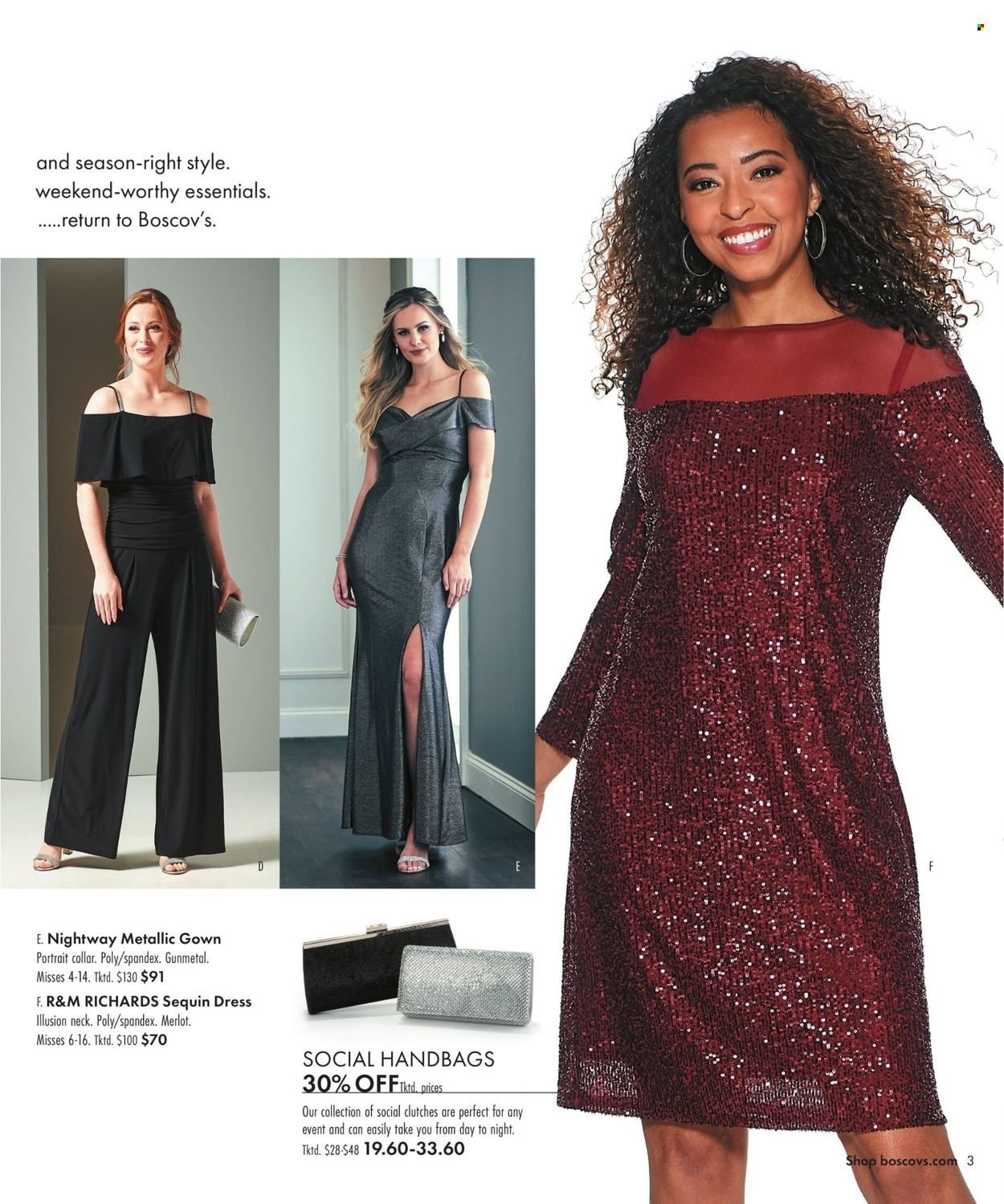 Boscov's Fall Clothing Ad from september 23 to october 6 2021 - Page 3