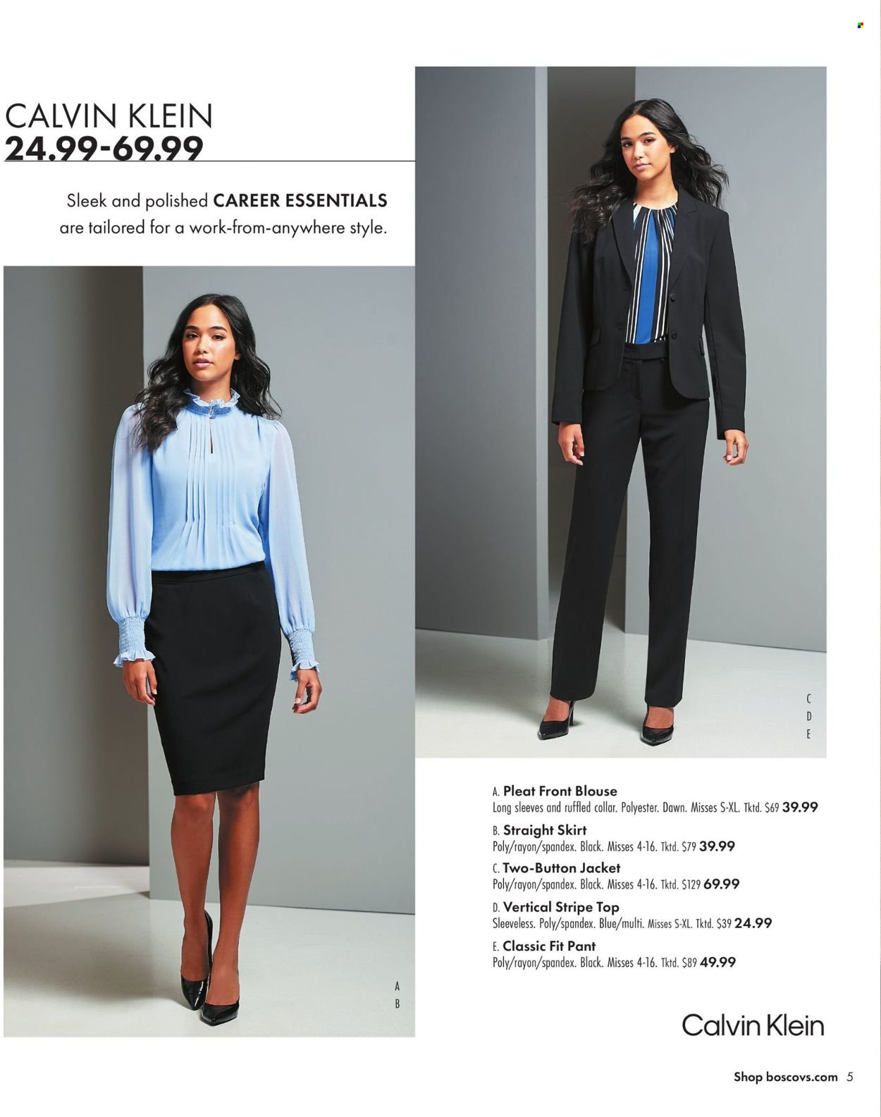 Boscov's Fall Clothing Ad from september 23 to october 6 2021 - Page 5
