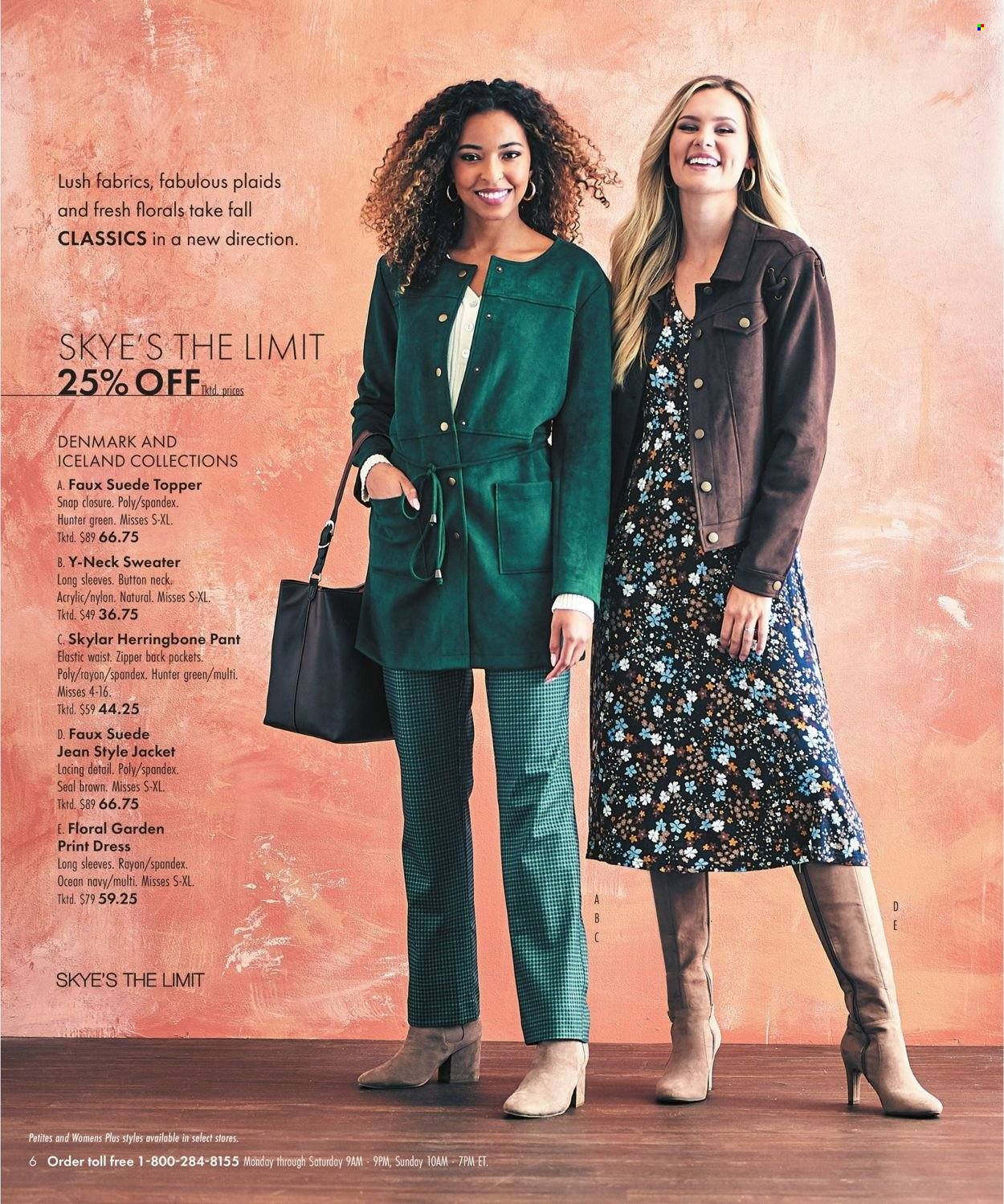 Boscov's Fall Clothing Ad from september 23 to october 6 2021 - Page 6