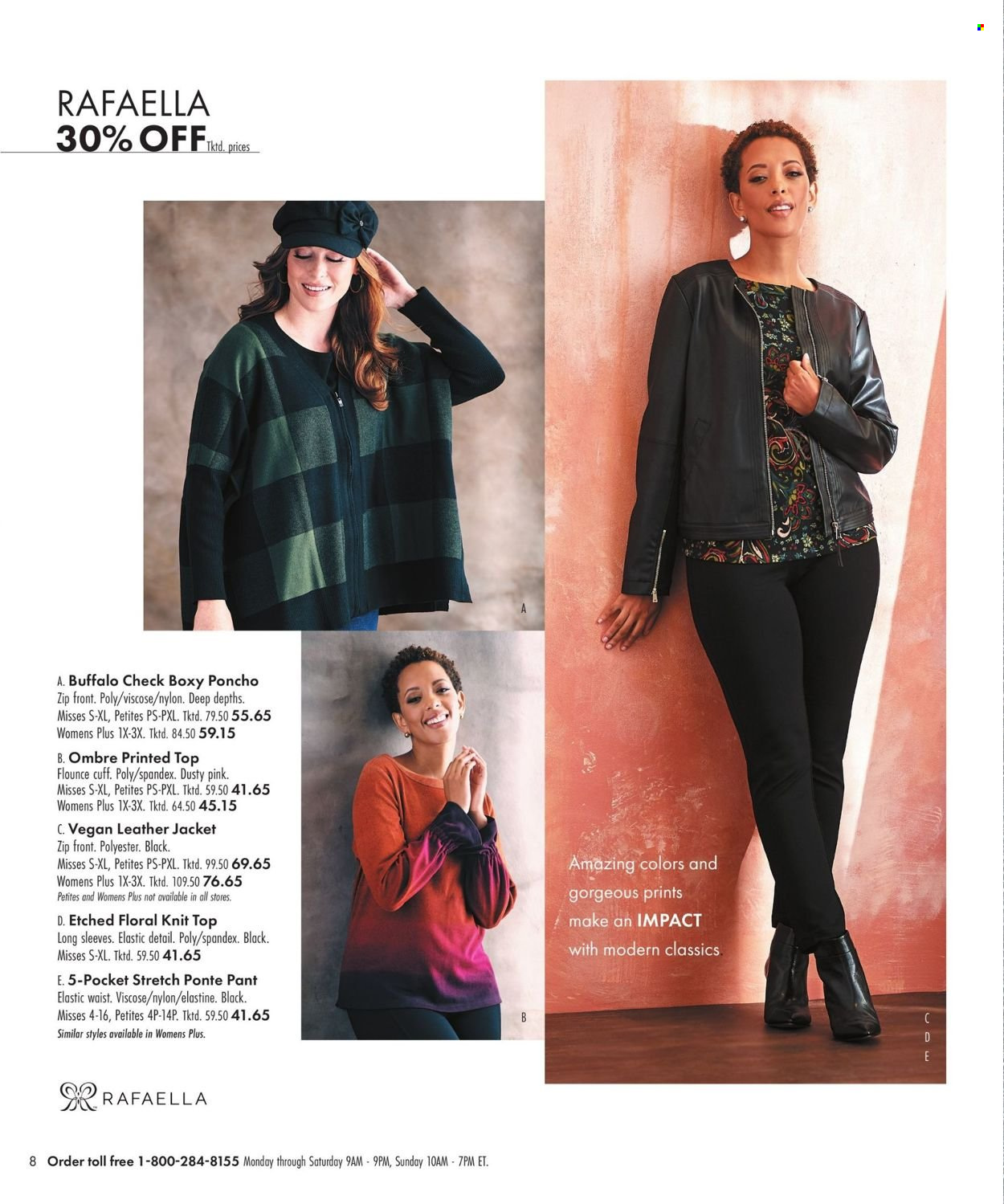 Boscov's Fall Clothing Ad from september 23 to october 6 2021 - Page 8