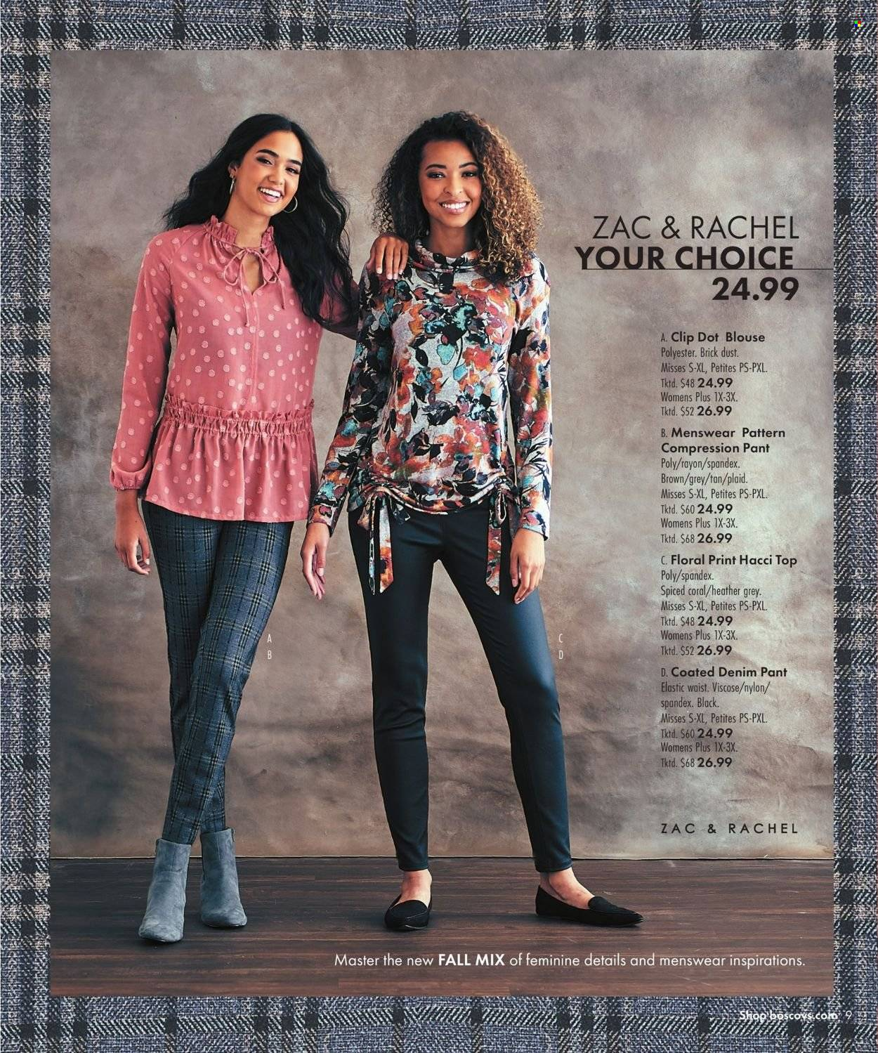Boscov's Fall Clothing Ad from september 23 to october 6 2021 - Page 9