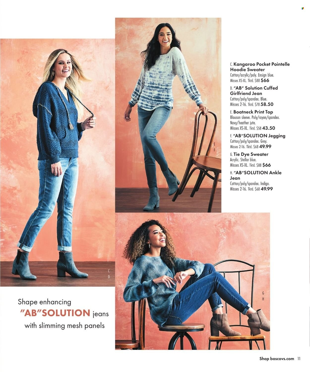 Boscov's Fall Clothing Ad from september 23 to october 6 2021 - Page 11