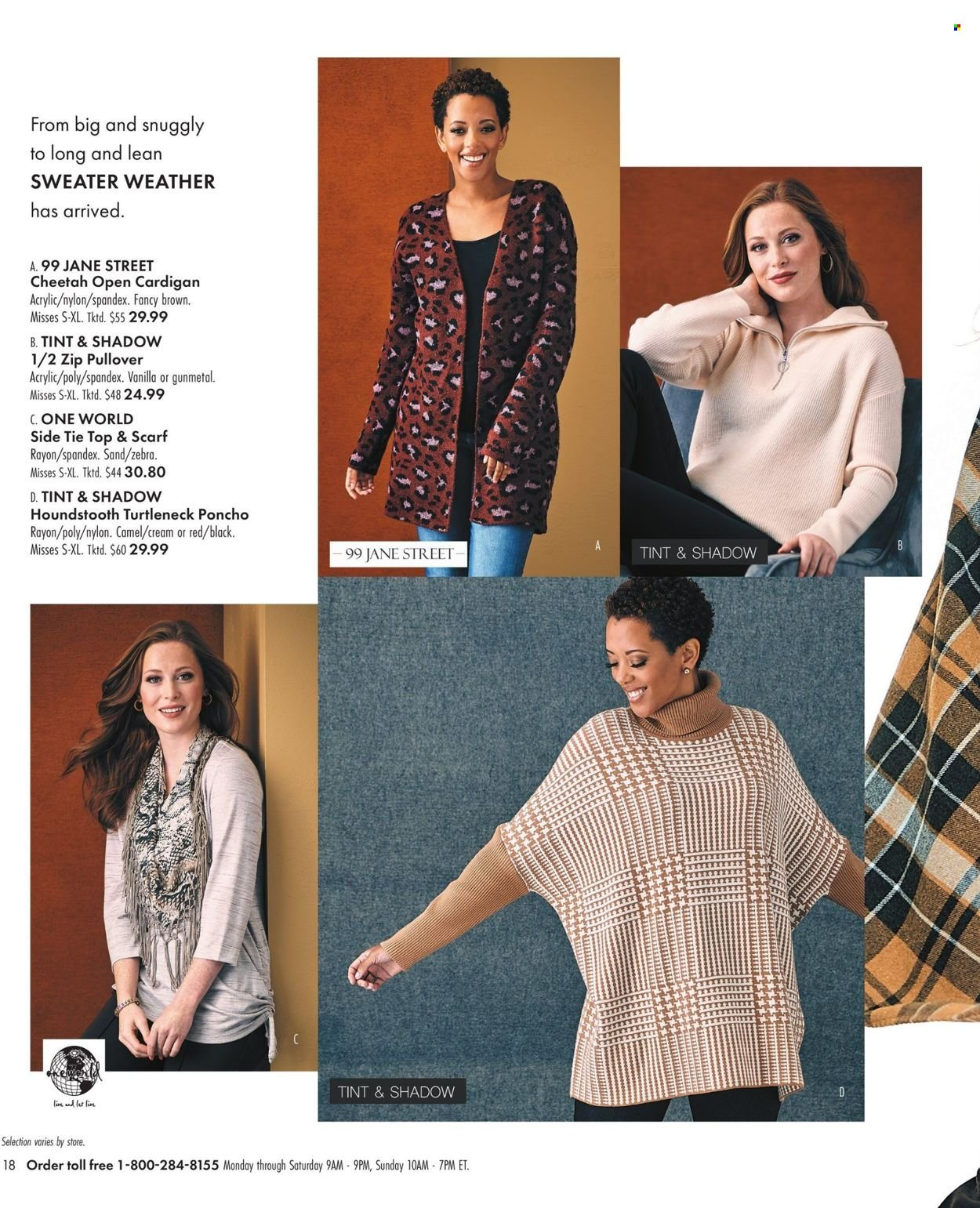 Boscov's Fall Clothing Ad from september 23 to october 6 2021 - Page 18