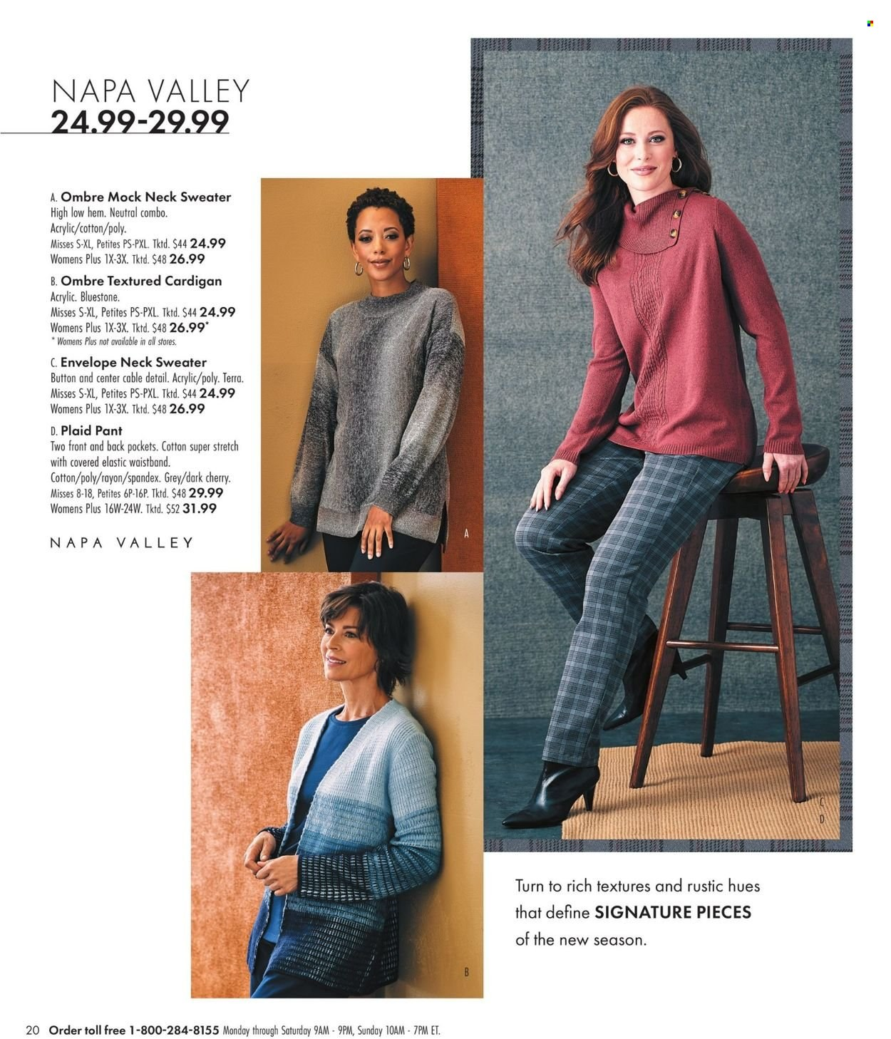 Boscov's Fall Clothing Ad from september 23 to october 6 2021 - Page 20