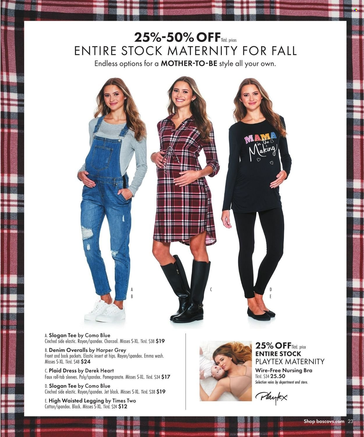 Boscov's Fall Clothing Ad from september 23 to october 6 2021 - Page 23