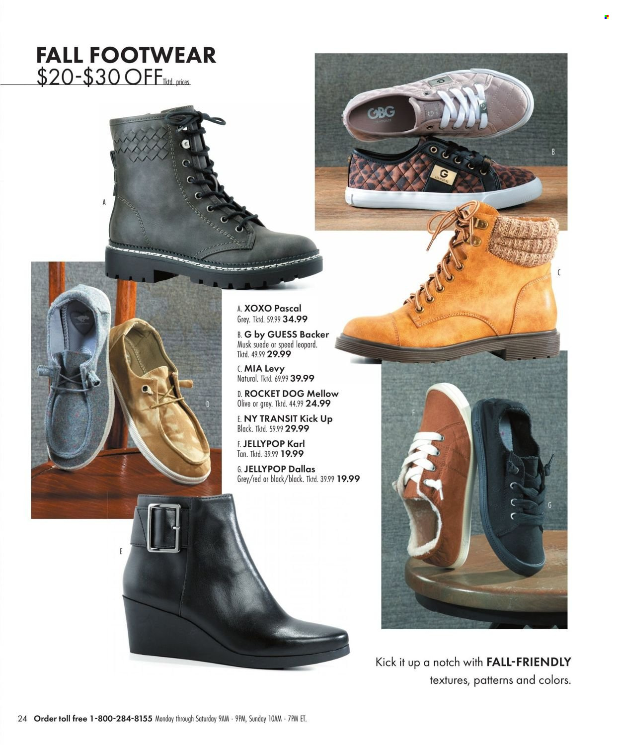 Boscov's Fall Clothing Ad from september 23 to october 6 2021 - Page 24