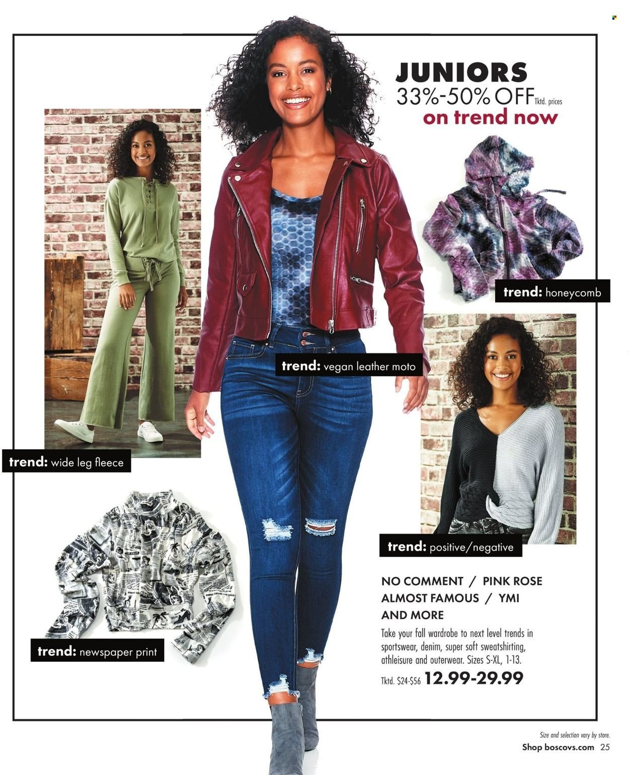 Boscov's Fall Clothing Ad from september 23 to october 6 2021 - Page 25