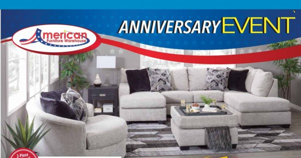 American Furniture Warehouse Ad from september 27 to october 3 2021