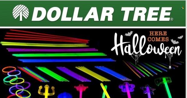 Dollar Tree Ad from september 26 to october 9 2021