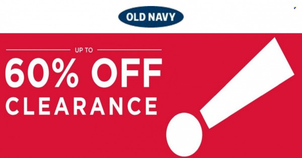 Old Navy 60% Off Clearance