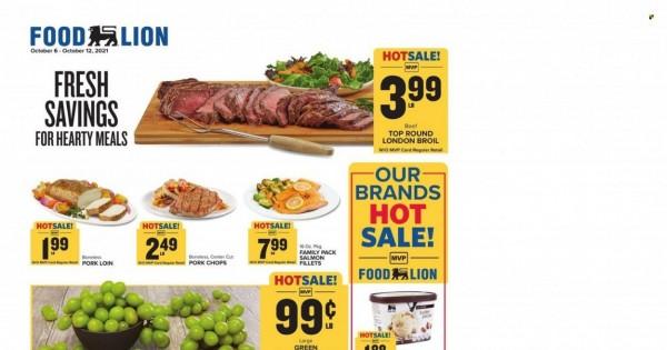 Food Lion current Flyer online