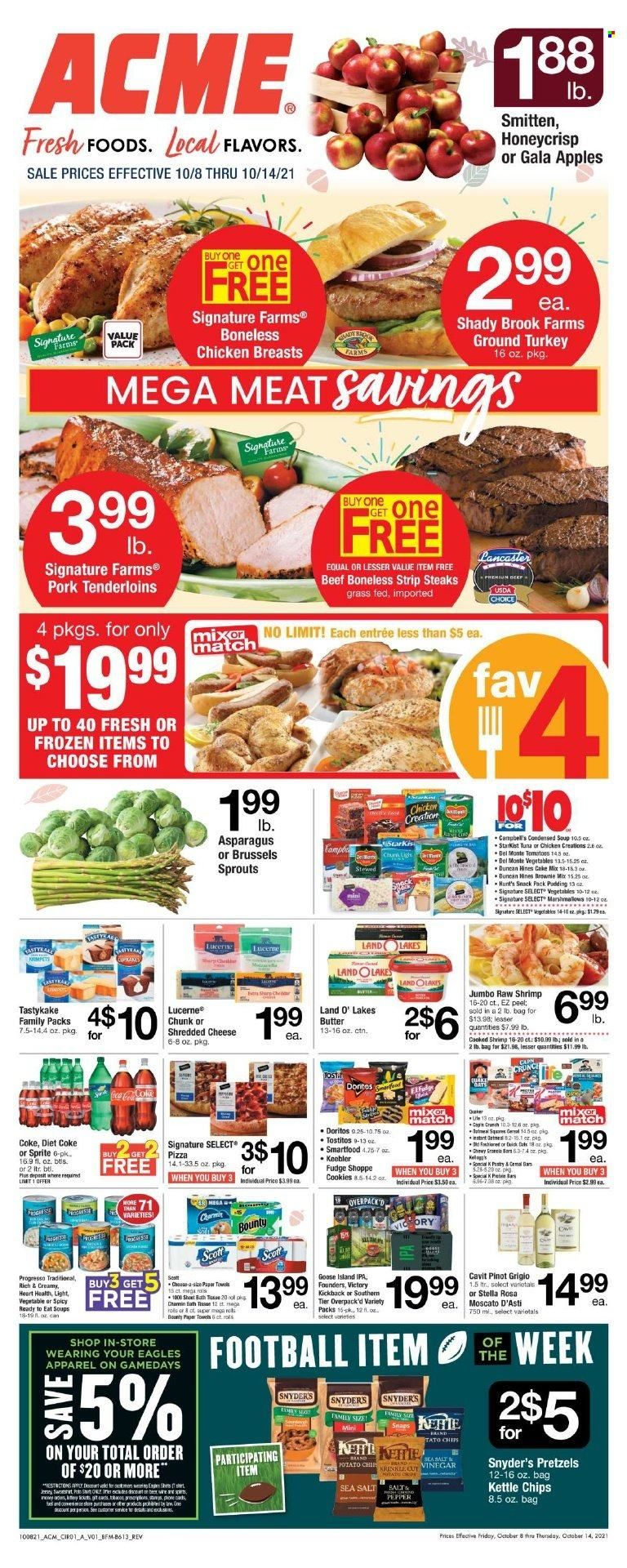 ACME Markets Ad from october 13 to 20 2021 - Page 1